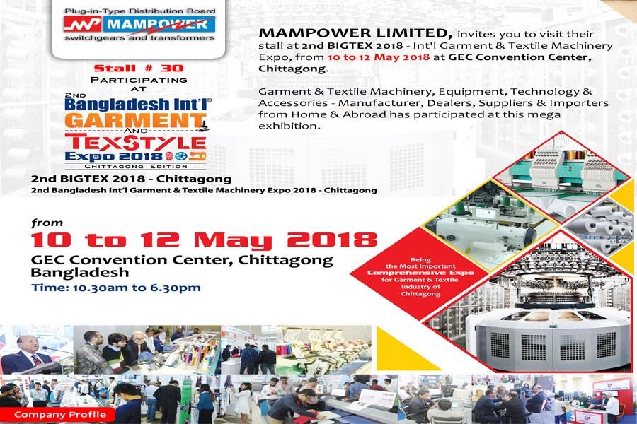 Bigtex Expo Chittagong 2018 - Graziadio