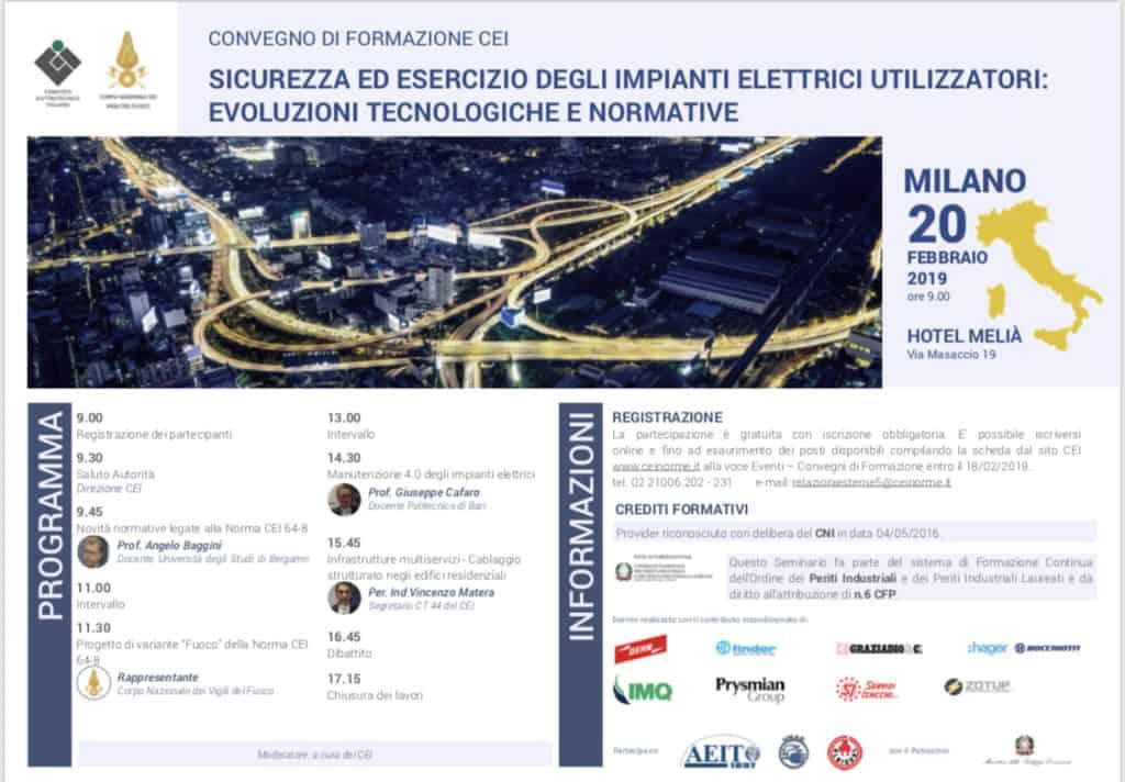 Cei Milano 2019